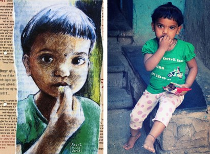 CALI REZO – Portraits de Bombay