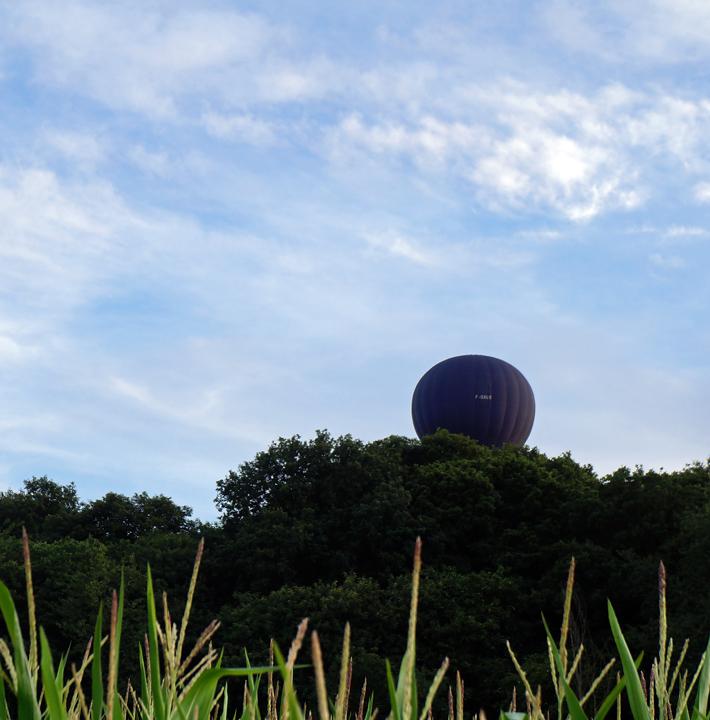 montgolfière cachée