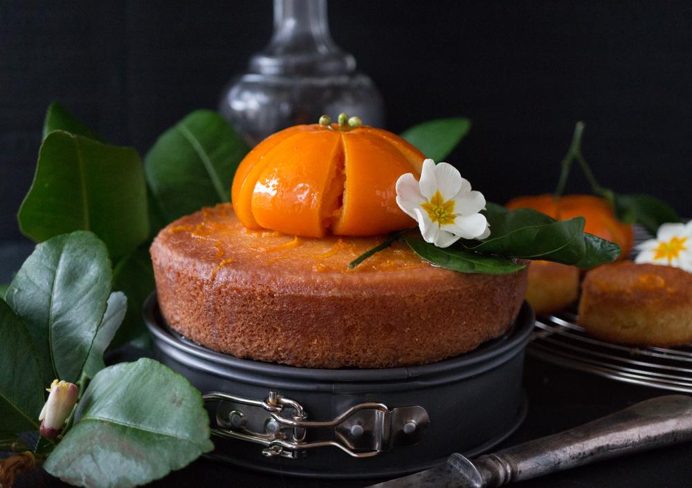 bluette.fr gâteau rétro à l'orange