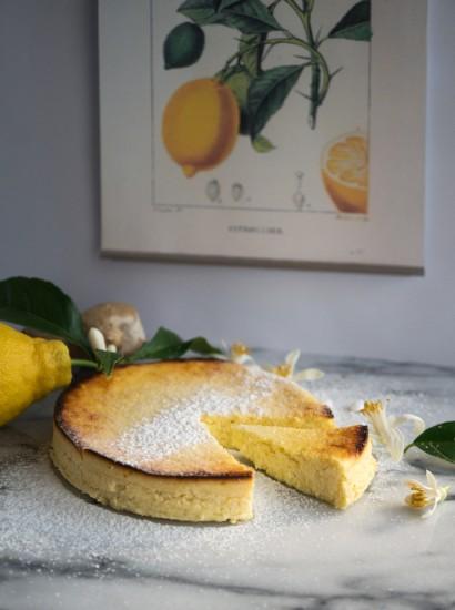 Dolce di ricotta e limone