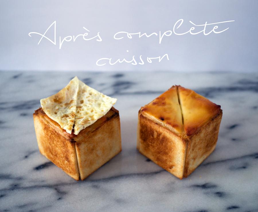 bluette.fr Croque-cubes après-cuisson