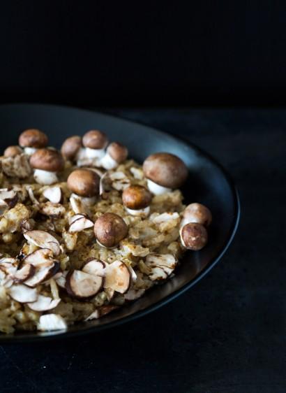 Paysage culinaire #1 : la champignonnière