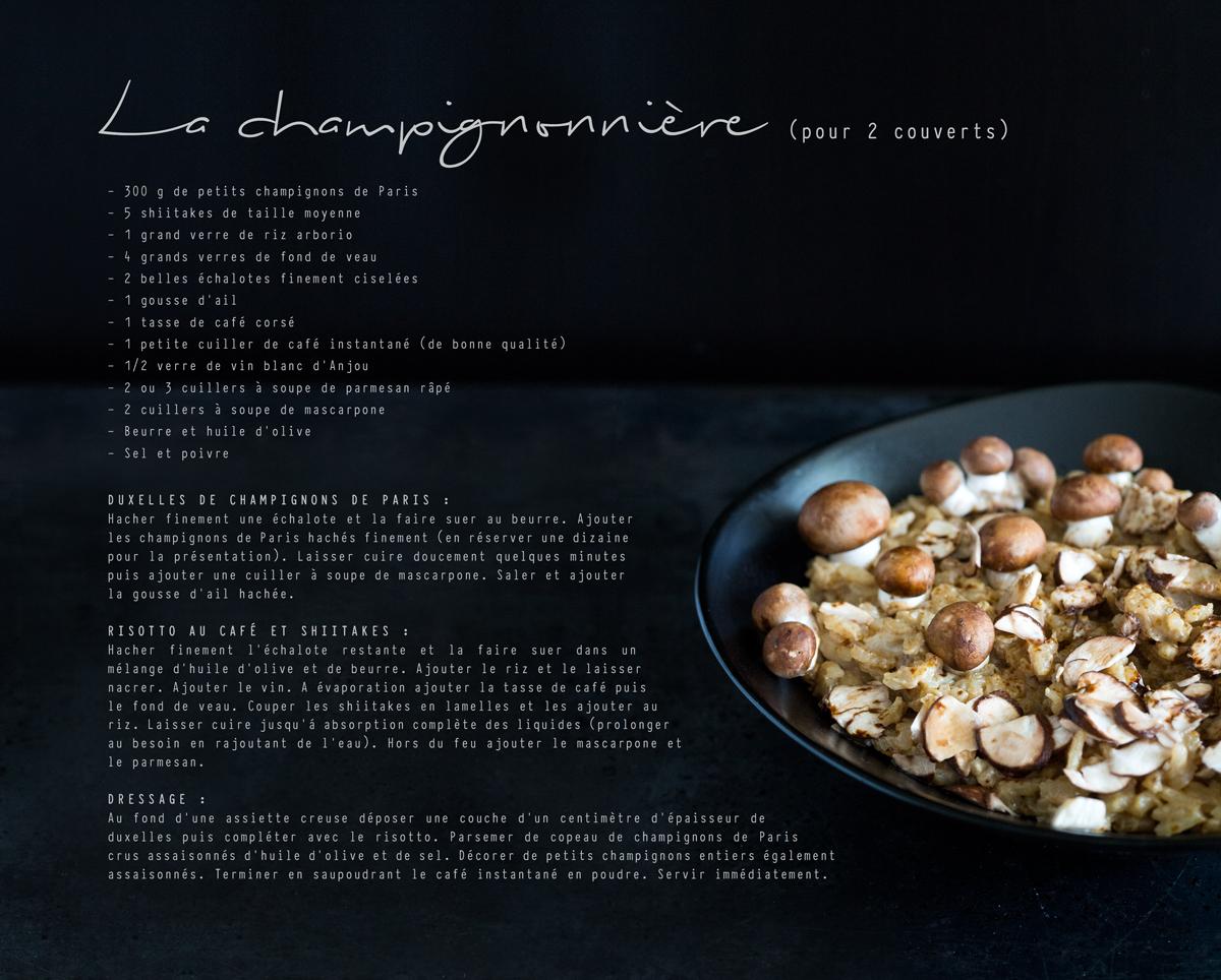 www.bluette.fr / champignonnière recette