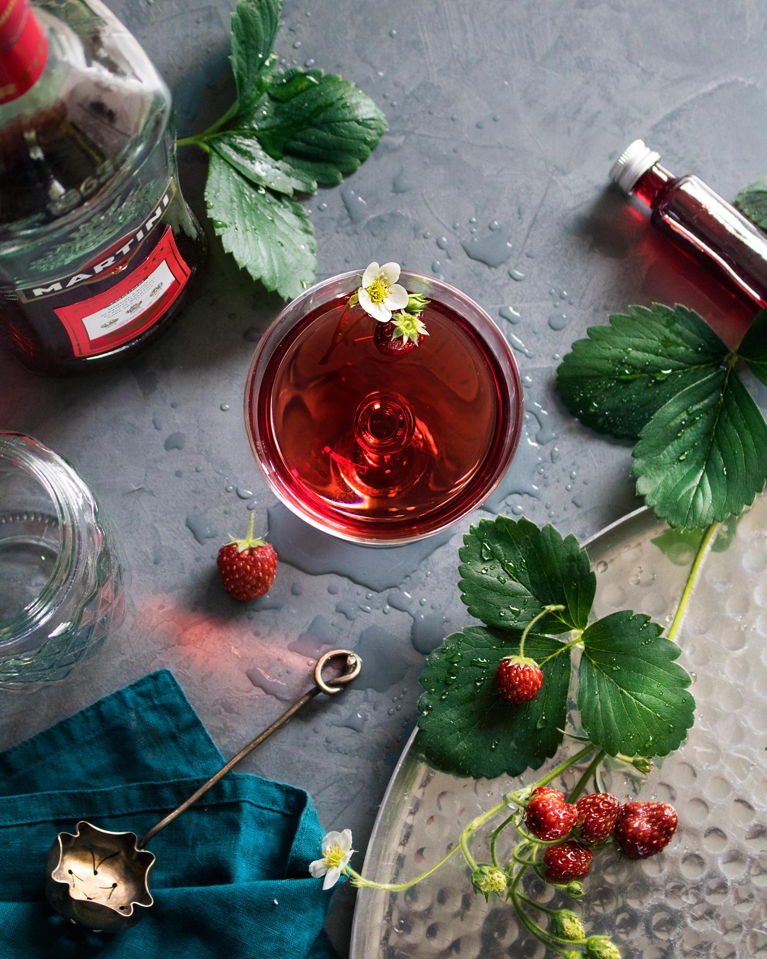 Martini-fraise©Bluette