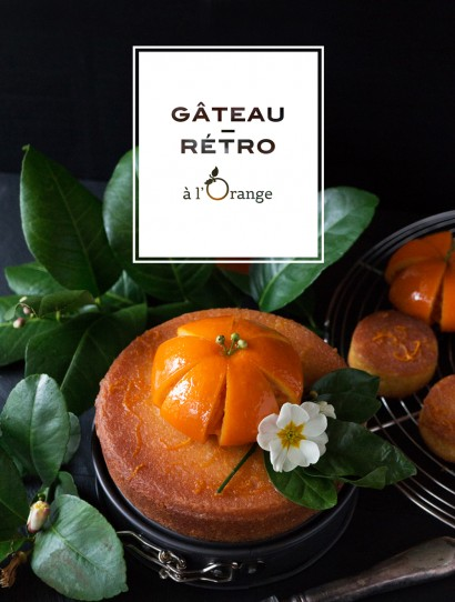 gâteau orange