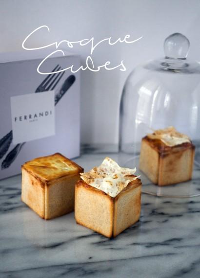 Design culinaire : Les Croque-Cubes