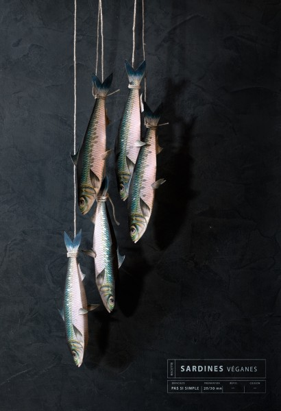 Sardines veganes